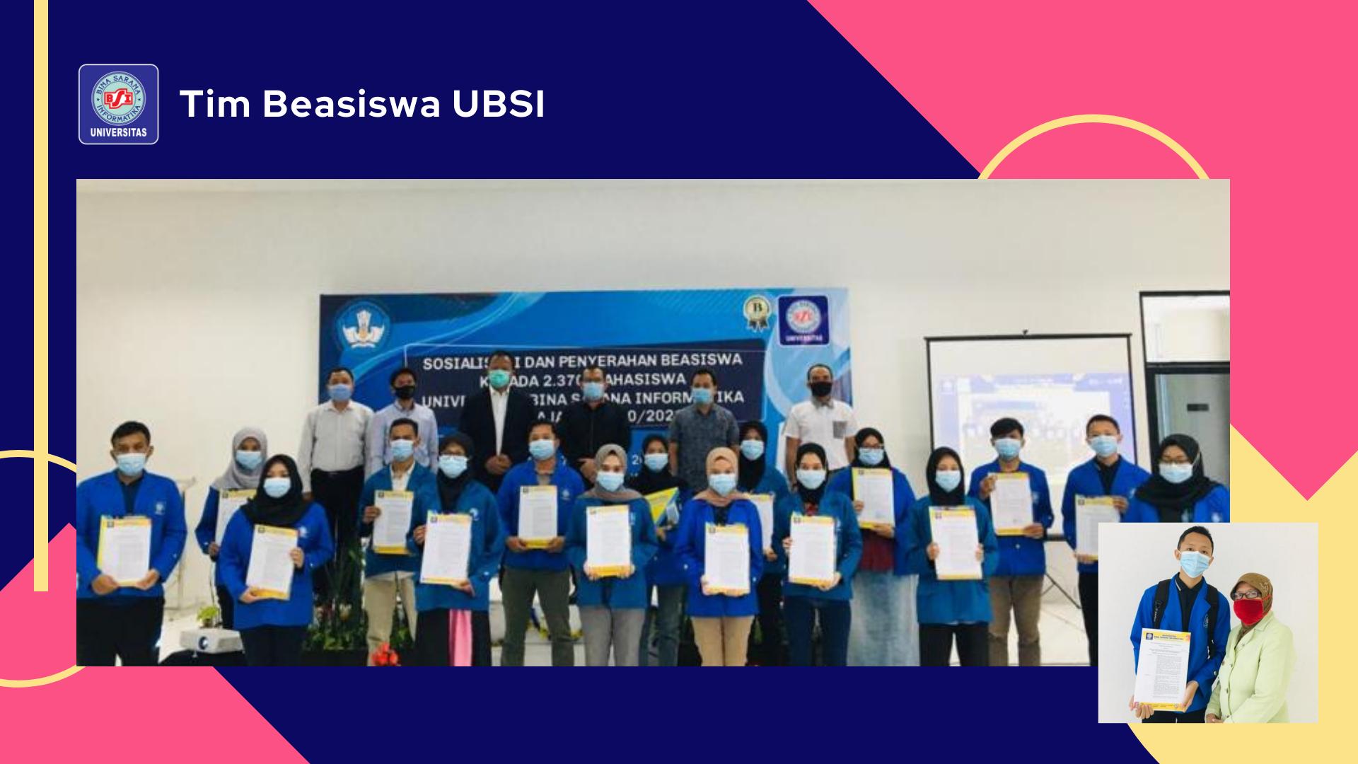 2.370 Mahasiswa Universitas Bina Sarana Informatika Terima Beasiswa Kuliah