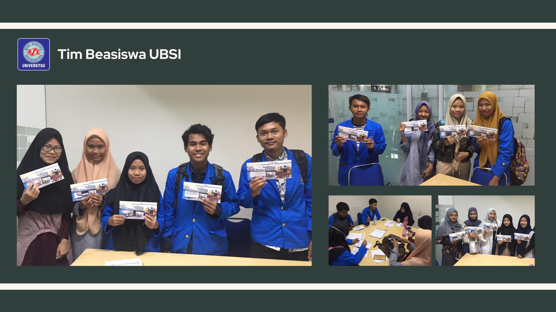 Penyerahan Buku Tabungan Penerima Beasiswa Bidikmisi Universitas Bina Sarana Informatika