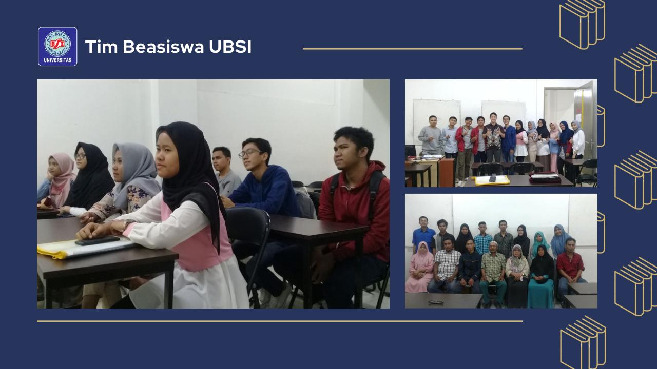 Universitas Bina Sarana Informatika Adakan Sosialisasi Beasiswa Bidikmisi Tahun 2019
