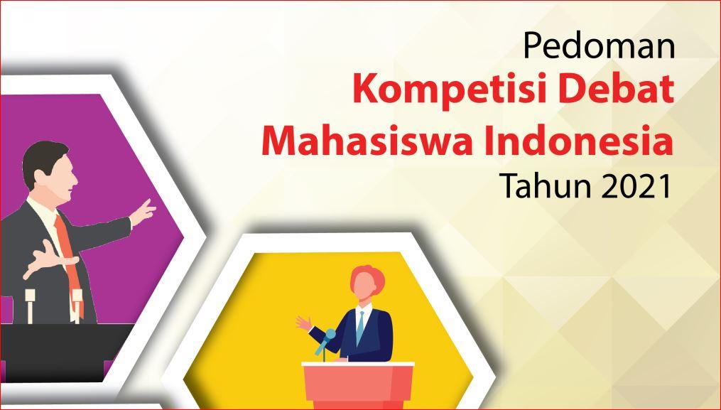 Kompetisi Debat Mahasiswa Indonesia Tahun 2021