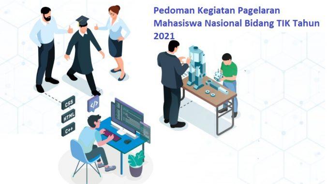 Pagelaran Mahasiswa Nasional Bidang Teknologi, Informasi, dan Komunikasi (Gemastik) Tahun 2021