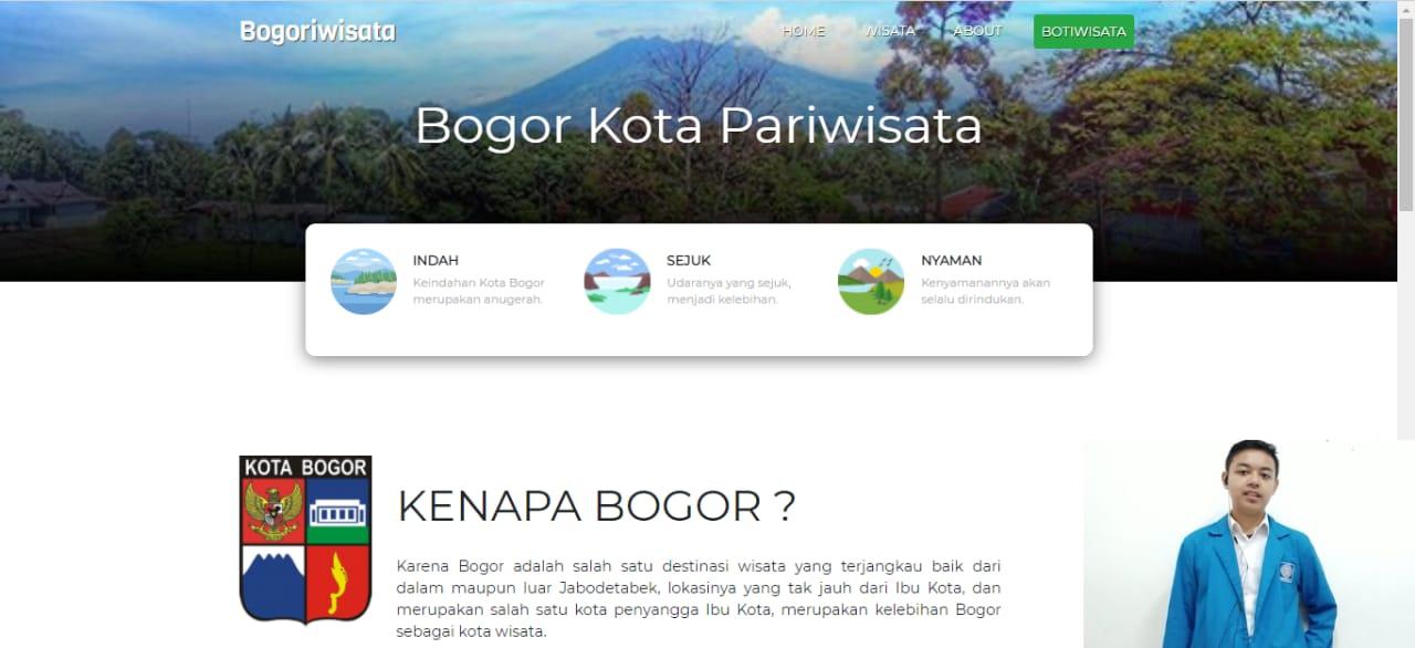 Fantastis! Salah satu mahasiswa UBSI PSDKU Bogor meraih Juara Baperekraf Digital Challenge