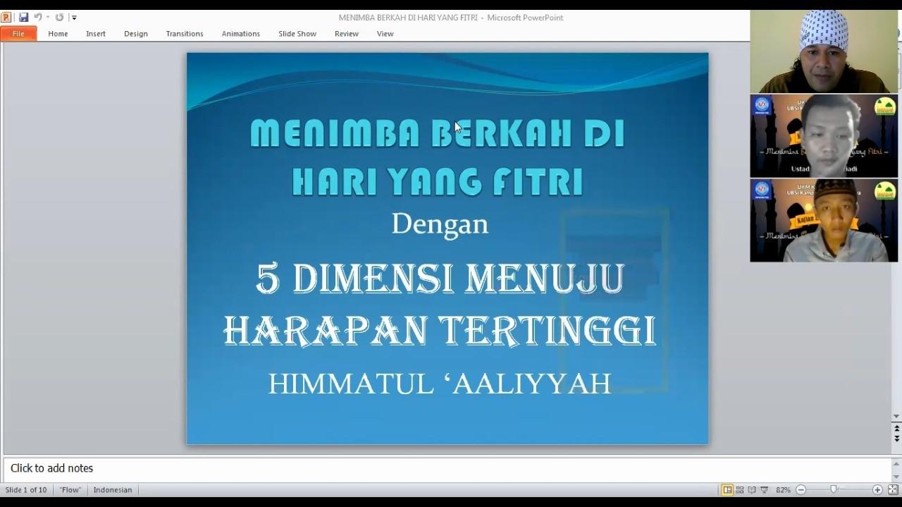 """UKM Kerohanian Islam Universitas BSI Tasikmalaya Gelar Halal Bihalal """"Menimba Berkah di Hari yang Fitri"""""""