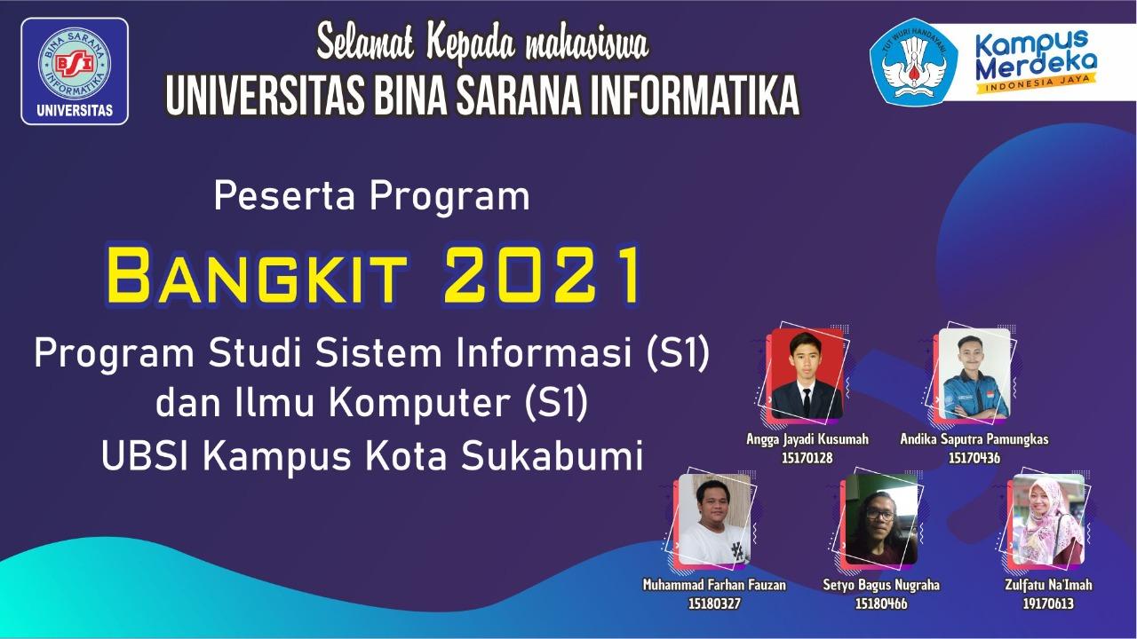 Keren, Mahasiswa Universitas BSI Kampus Kota Sukabumi, Lulus Program Bangkit 2021