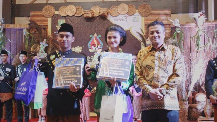 2018 - Duta Wanoja Budaya Kota Sukabumi