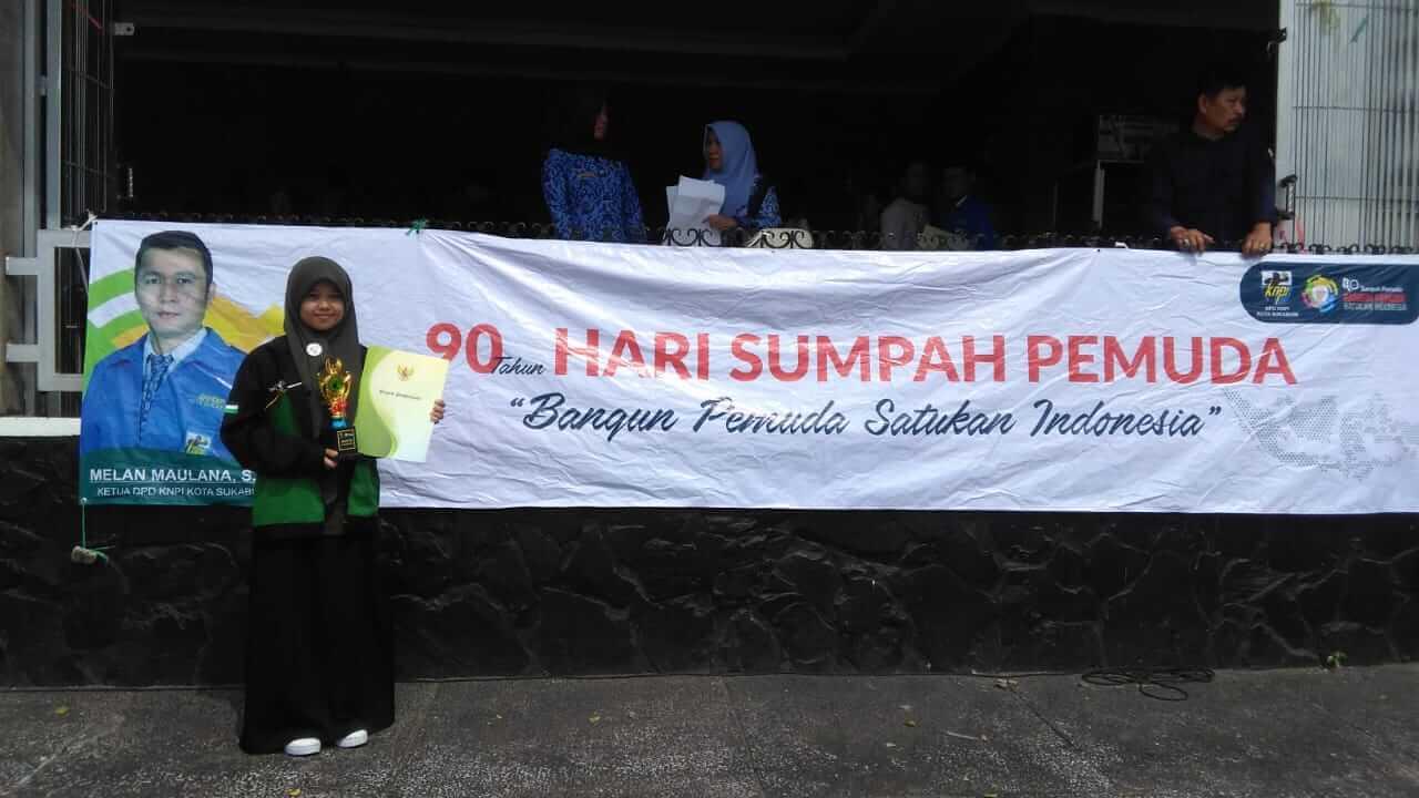 2018 - Juara III Tenis Meja OKP Tingkat Kota Sukabumi