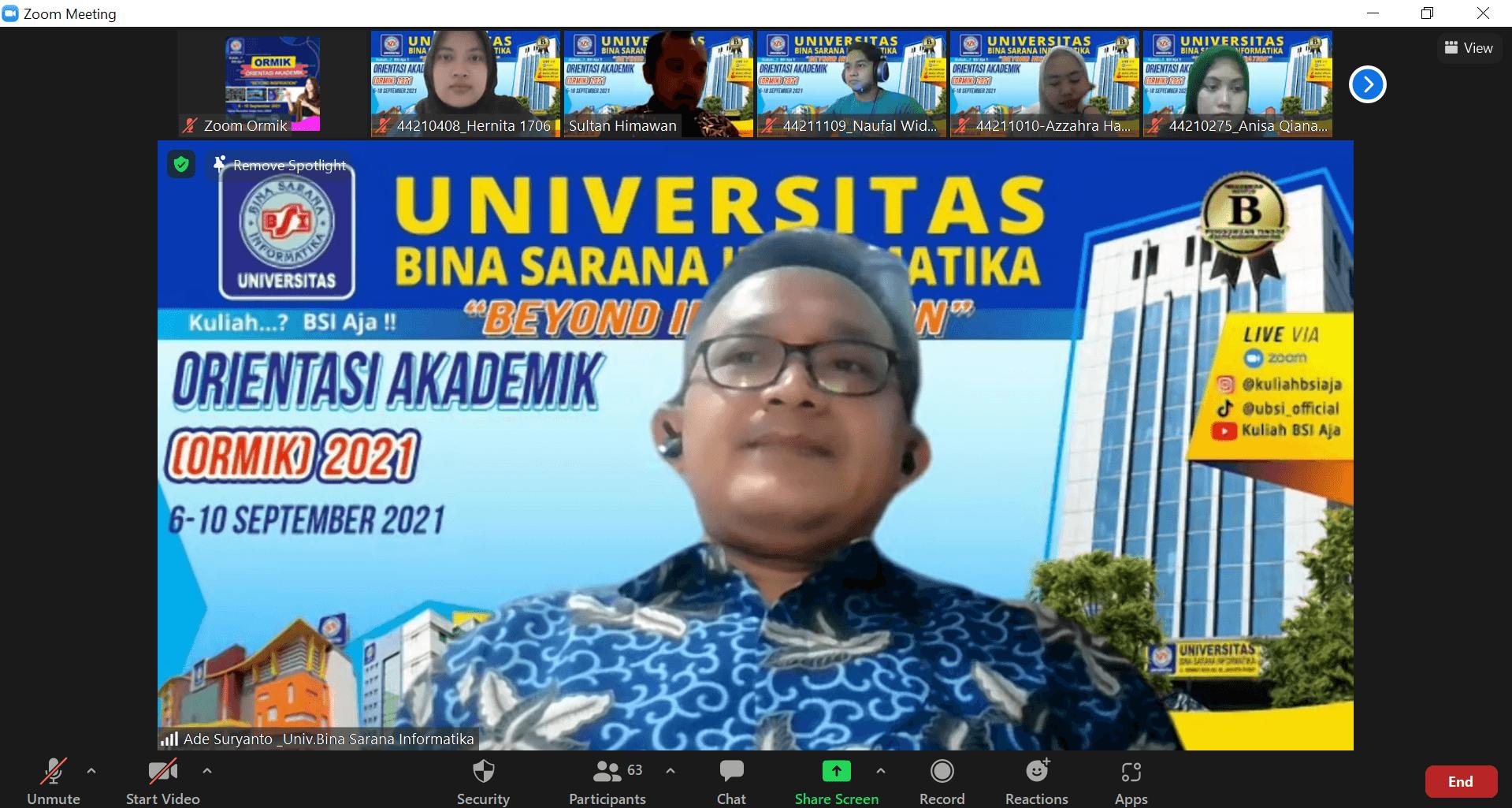 Orientasi Akademik 2021
