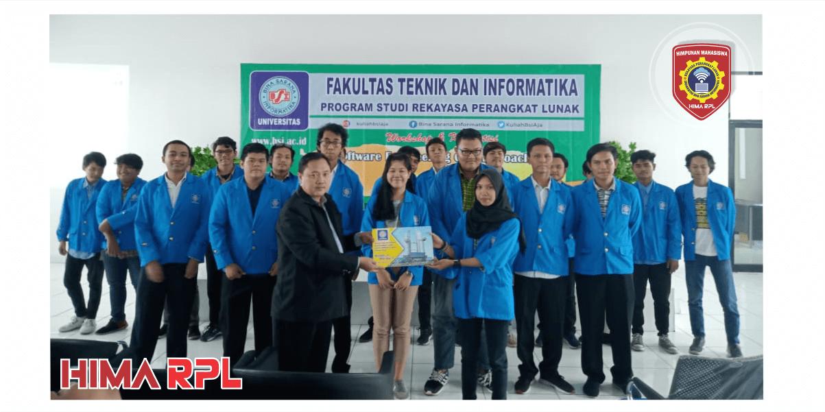 Pengukuhan Pengurus HIMA RPL periode 2019-2020