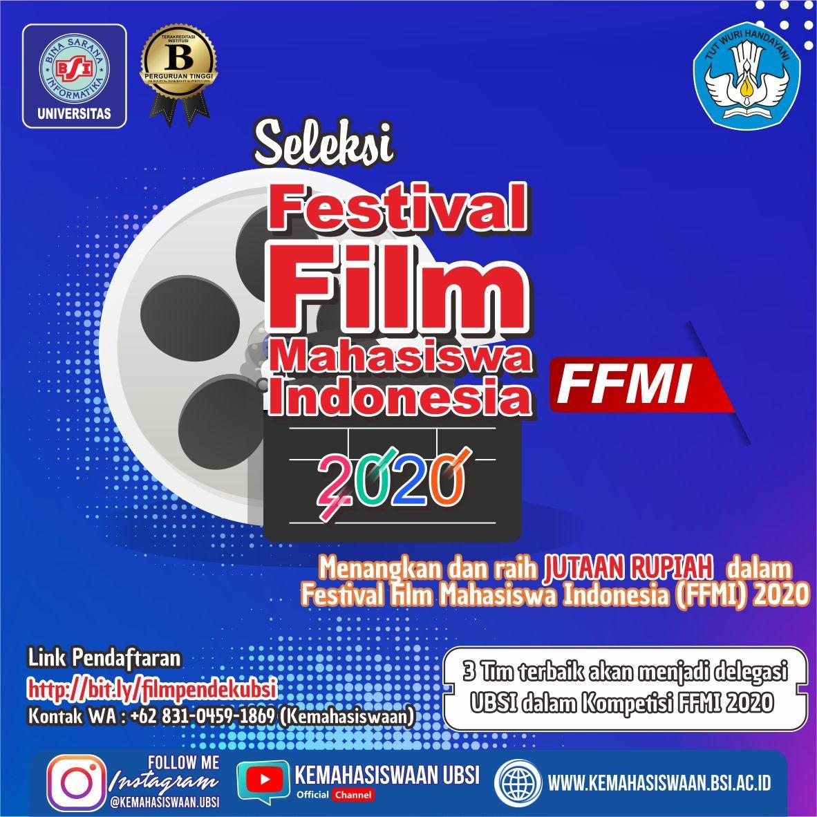 SELEKSI FESTIVAL FILM MAHASISWA INDONESIA 2020
