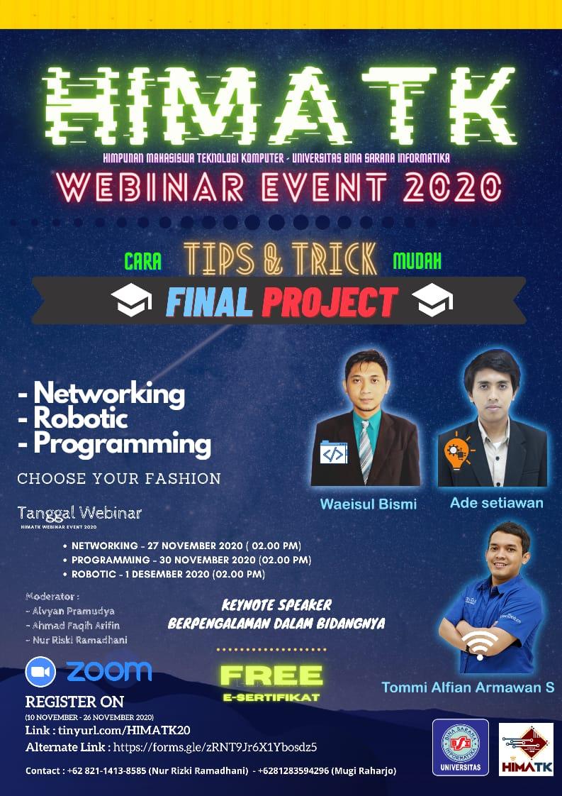 Webinar Event HIMATK 2020