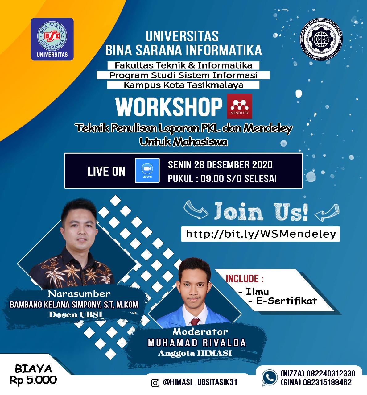 Workshop Mendeley